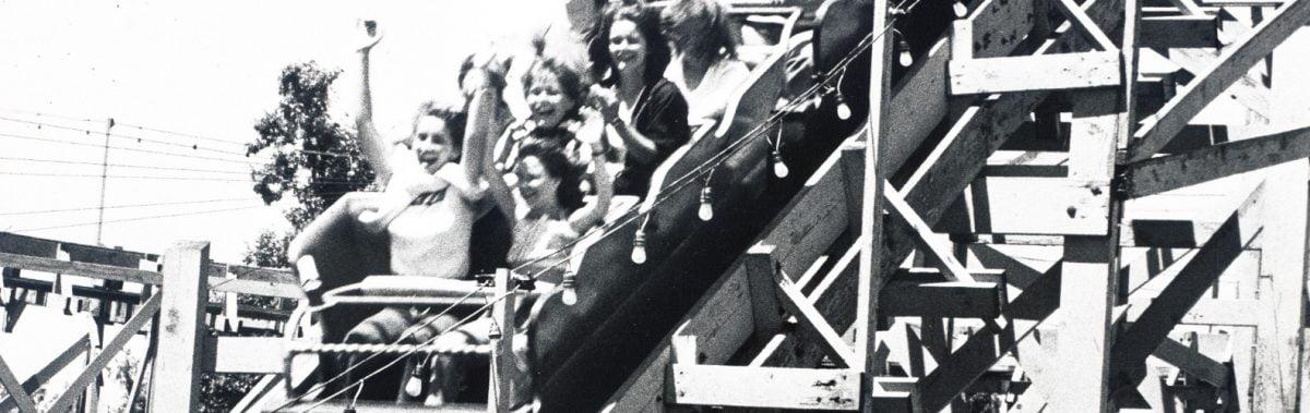 Crystal Beach Roller Coaster